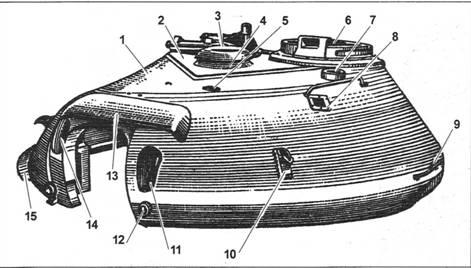 Башня танка Т-10: