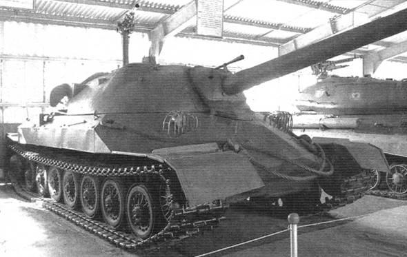 Опытный экземпляр танка ИС-7, хранящийся в музее в Кубинке