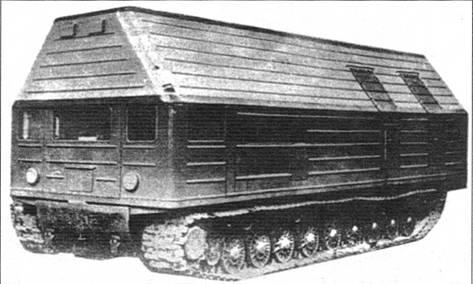 Подвижная атомная электростанция «объект 27» на базе танка Т-10