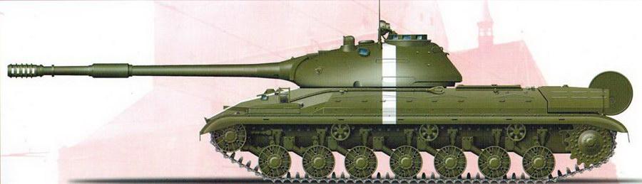 Т-10М, Чехословакия, 1968 г.