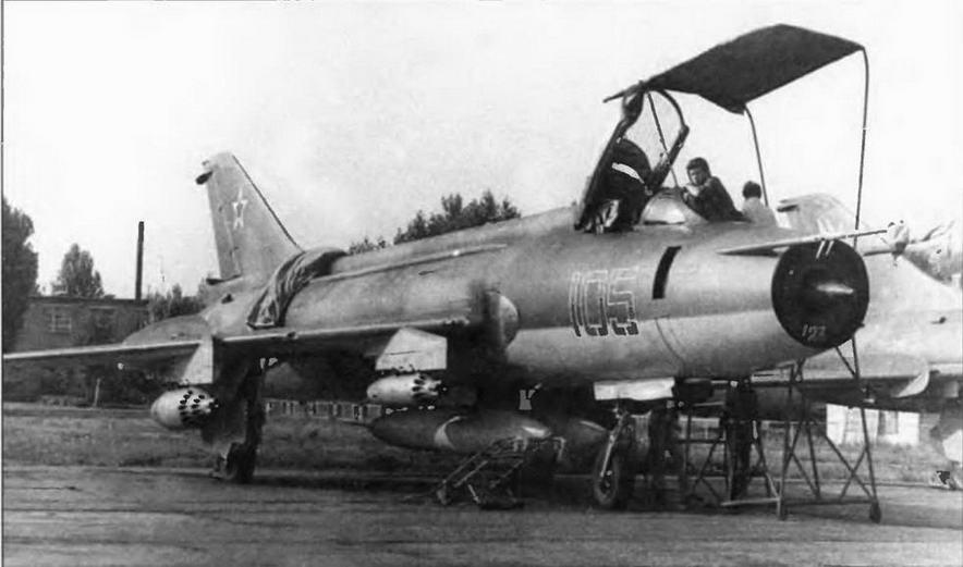 Су-17 в учебном полку.
