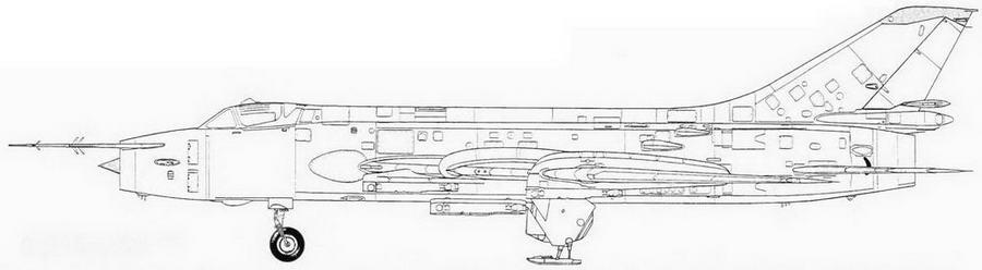 Су-17М на лыжном шасси (С-32М 60-й серии)