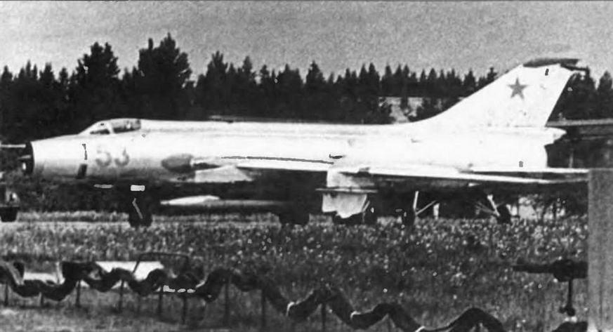 Су-17 первых серий.