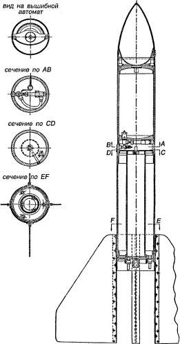 Схема двигателя «ОРМ-1»