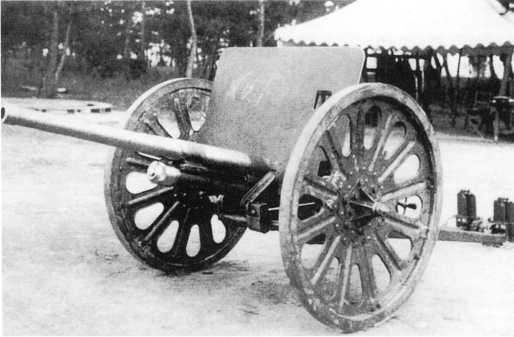Основной противник советских танков в боях на Халхин-Голе — японская 37-мм пушка Тип 94 (ЯМ).