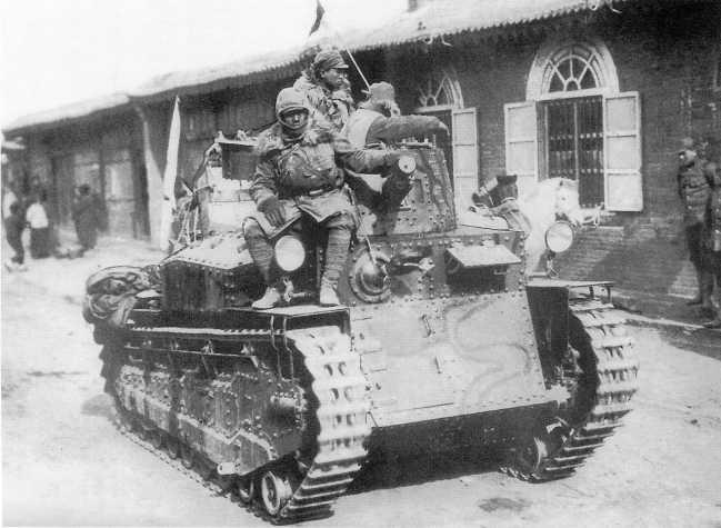 Японский средний танк Тип 89 «Ко» из состава 4-го танкового полка Квантунской армии. Маньчжурия, предположительно 1938 год (ЯМ).