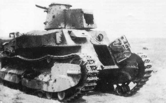 Еще один танк Тип 89 3-го танкового полка, уничтоженный 3 июля 1939 года в бою с советскими танками и броневиками (ЯМ).