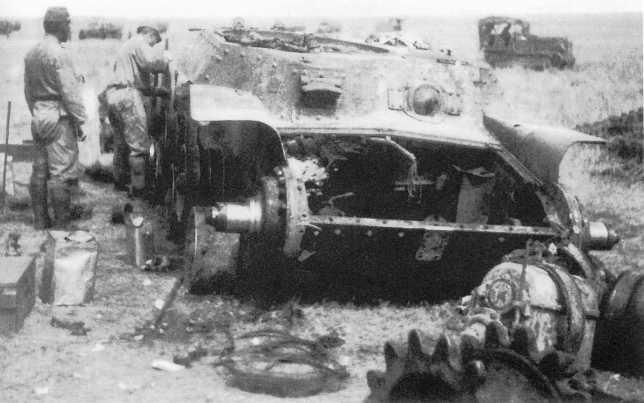 Танк Тип 97 «Чи-Ха» командира 4-го танкового полка полковника К. Йошимару, уничтоженный советскими танкистами в бою 3 июля 1939 года. Полковник Йошимару и экипаж танка погибли (ЯМ)