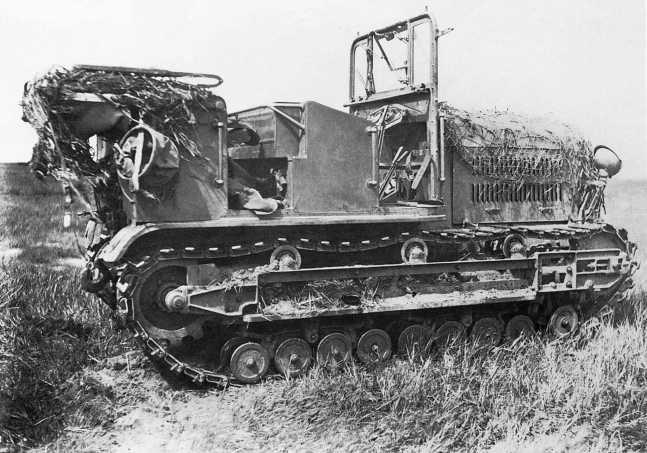 Японский артиллерийский тягач Тип 92 (5-тонный) из состава 1-го отдельного полка полевой артиллерии, захваченный частями Красной Армии в боях 20–31 августа 1939 года