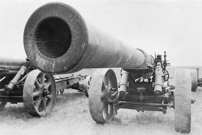 Еще одно трофейное 150-мм орудие Тип 89 из состава 1-го тяжелого полка полевой артиллерии. Сентябрь 1939 года (ЦМВС)
