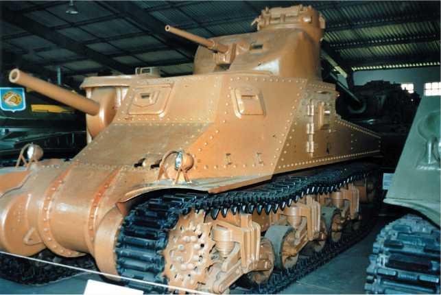 Средний танк М3с. Военно-исторический музей бронетанкового вооружения и техники в Кубинке.
