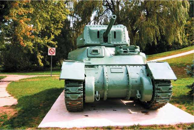Крейсерский танк Ram II.
