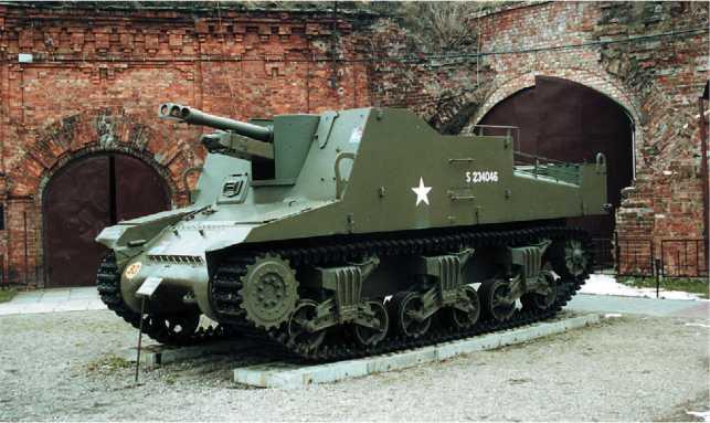 Самоходная артиллерийская установка Sexton. Военный музей в Варшаве. Фото О. Баронова.