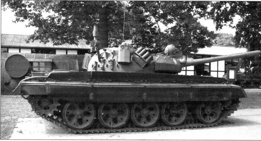 Чехословацкий танк Т-55АМ2 «Кладиво»