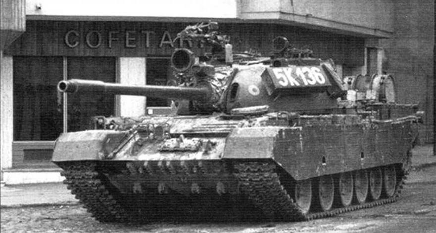 Румынский танк TR-85. Установка более мощного немецкого дизеля заставила увеличить длину корпуса и поставить подвеску с шестью катками