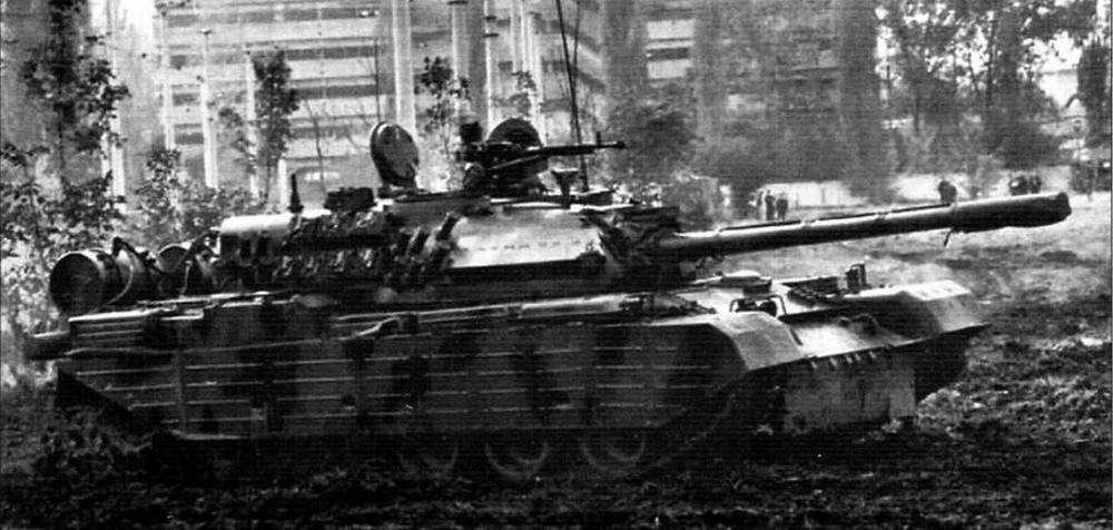 Модернизированный TR-85M1 с СУО фирмы «Матра»