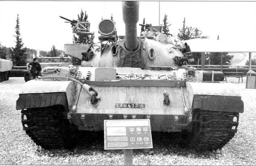 Израильский танк «Тиран»-5 на Выставке вооружения в Латруне, 1975 год