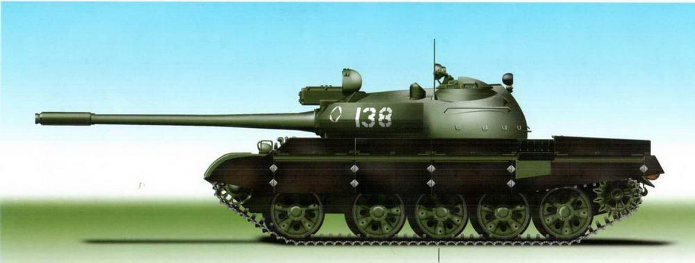 Танк Т-55АМ Советских Вооруженных Сил, 1983 г.