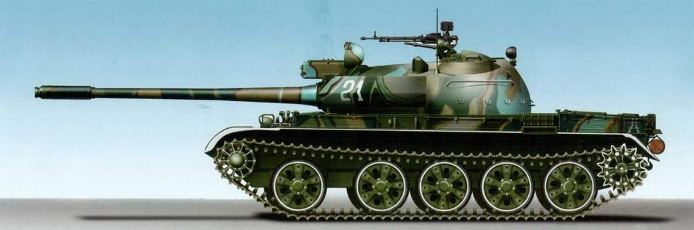 Танк Т-55АМ, Абхазия, 2005 г.