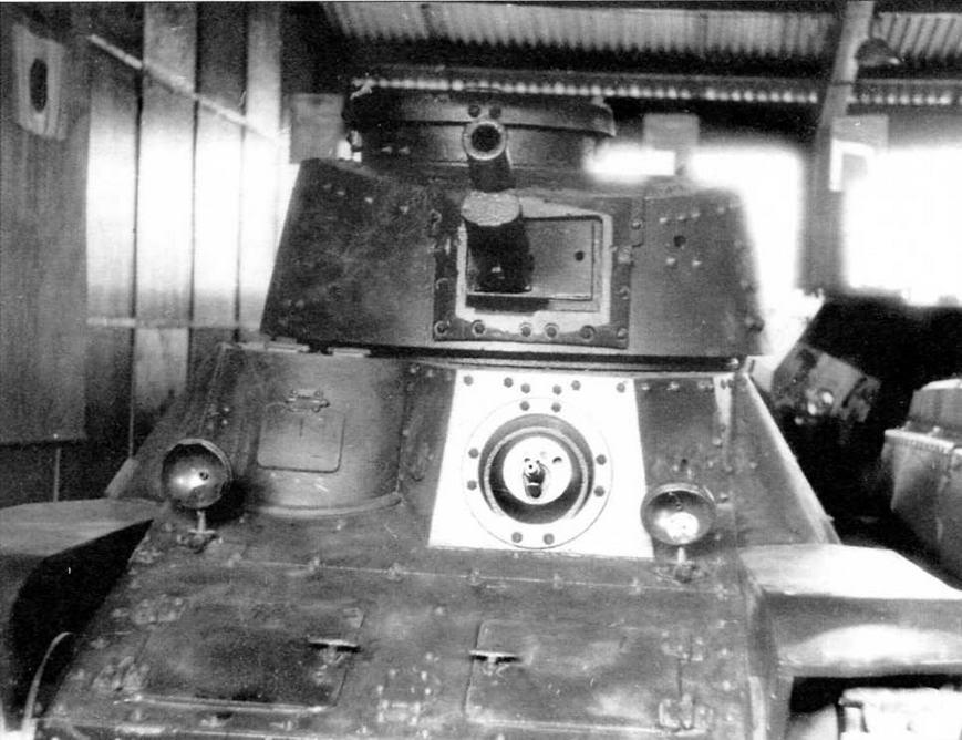 Легкий танк Тип 3 «Ке-ри» внешне отличался от «Ха-го» только башней, заимствованной у среднего танка «Чи-ха»