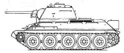 Т-34 обр.1942 г., выпуска 1943 г.