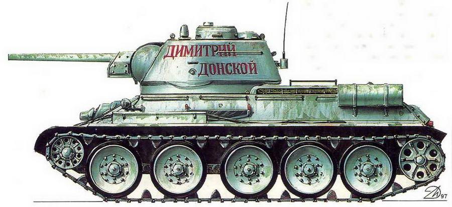 ОГНЕМЕТНЫЙ ТАНК ОТ-34.
