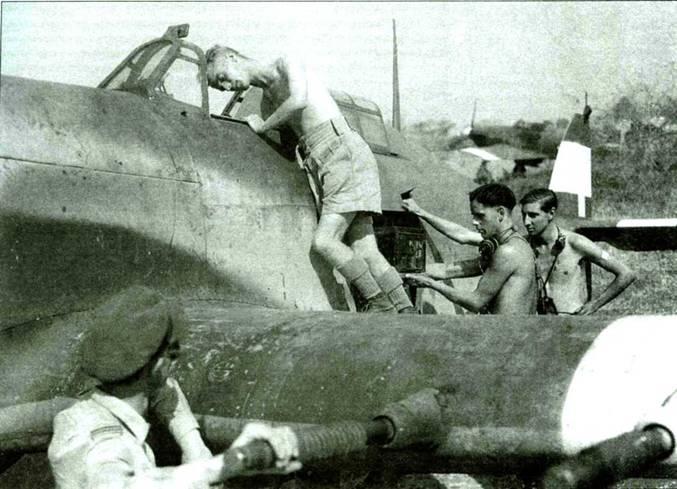 «Харрикейн» на службе в Королевских ВВС