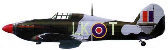 «Харрикейн Mk IIС», LK- А, 87-я эскадрилья, Коулерн, 1942 год.