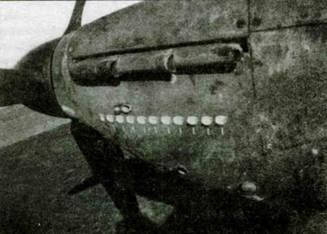 «Харрикейн» (146957) из 79-й эскадрильи, принадлежавший летному офицеру Дону Стоунзу. Стоунз обозначал победы, изображая на борту фюзеляжа ночные вазы. Ноябрь 1940 года.
