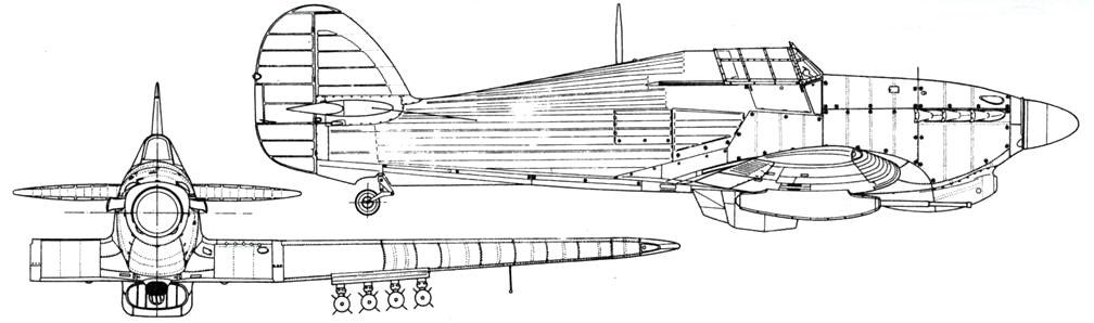 Hawker Hurricane MkIV серийный