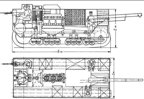 Проект танка фирмы «Русский Рено».
