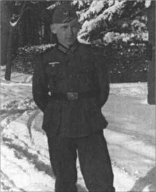 Стрелок Альфред Руббель, февраль 1940-го.