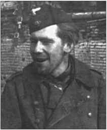 Вернер «Пиепель» Грассе был водителем танка в 1-й роте.