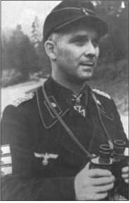 Обер-лейтенант доктор Франц Беке, командир 11-го танкового полка, в феврале 1944 года он командовал тяжелым танковым полком «Беке», в который входил также 503-й тяжелый танковый батальон. За свои достижения в качестве командира в боях у котла в Черкассах 21 февраля1944 года он был награжден Мечами к Рыцарскому кресту с Дубовыми листьями.