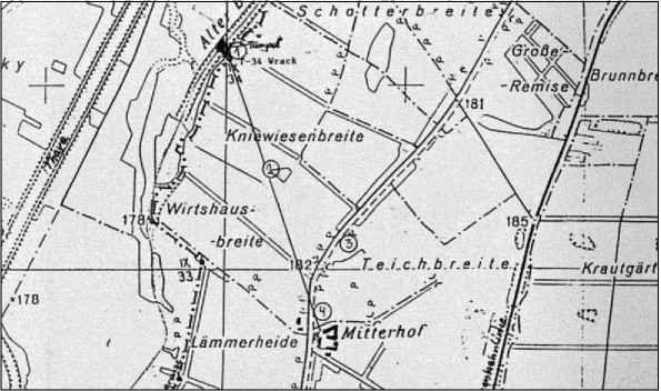 Детальная карта Миттерхофа и его ближайших окрестностей.