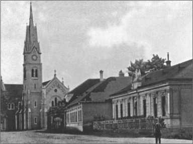 Церковь в Вербелы, это населенный пункт в Словакии. Там батальон стоял в марте 1945 года.