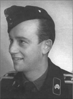 Ханс фон Хагемайстер позже стал лейтенантом, здесь он еще фельдфебель.