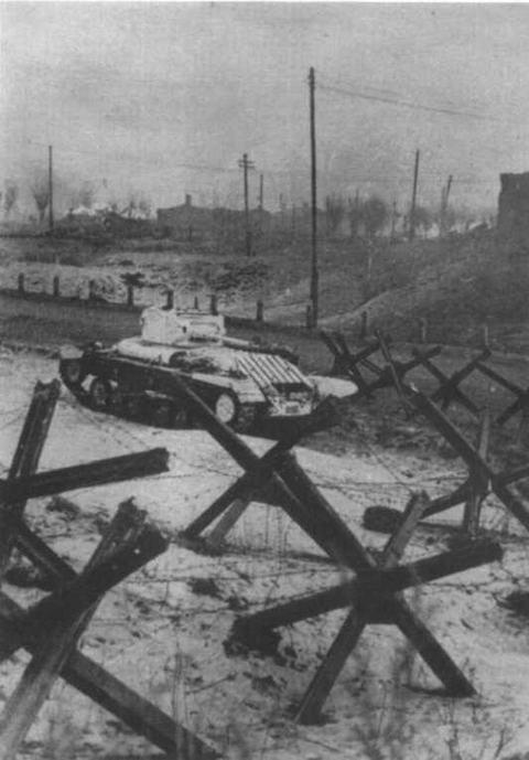 «Валентайн II» на подступах к Москве. Западный фронт, декабрь 1941 года