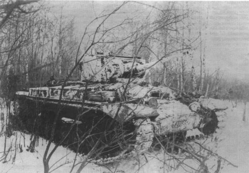 «Валентайн II» в засаде. Битва за Москву, январь 1942 года