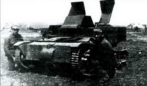 Танкетка Т-27 в учебном центре 1932 г.