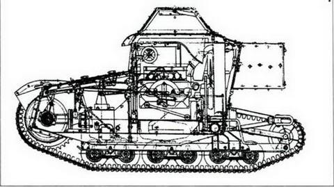 Компоновка танкетки Т-27
