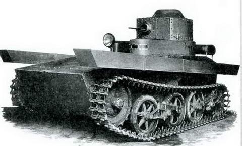 Плавающий танк Т-33 «Селезень», ОКМО, 1932 г.