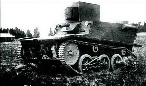Плавающий танк Т-41 2-го автозавода ВАТО, 1932 г.