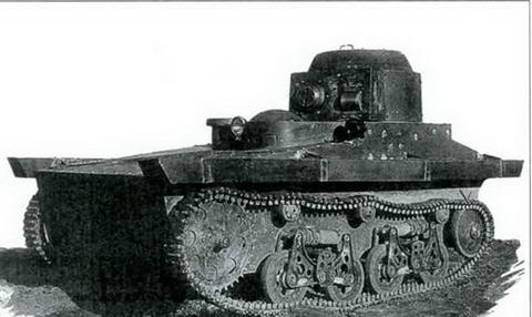 Плавающий танк Т-37 ОКМО, 1932 г.