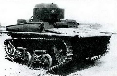 Танкетка Т-37А первых серий, 1933 г.
