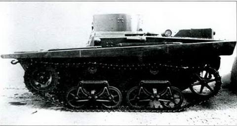 Танк Т-37А поздних серий, выпуска 1934-1935 гг.