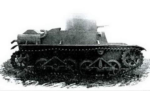 Мобилизационный танк Т-34, вид сбоку
