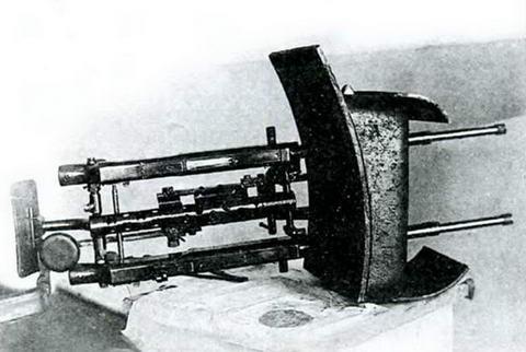 Спарка пулеметов ДТ для установки в башне танка БТ-2.
