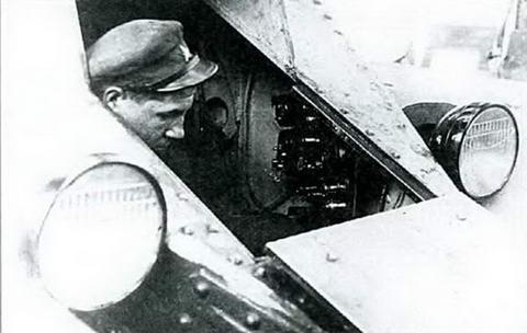Механик-водитель танка БТ, 1933 г.