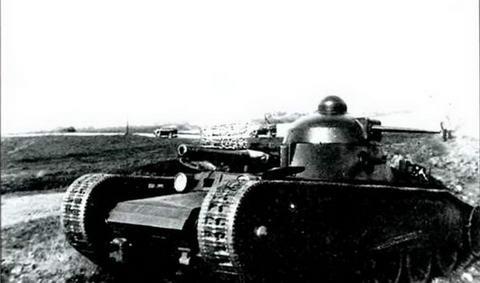 Танк Гроте (ТГ) на испытаниях, осень 1931 г.